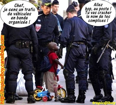 Arrestation enfant
