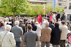 Inauguration Place F.Mitterrand 2