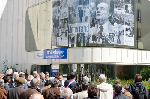 Inauguration Place F.Mitterrand 7
