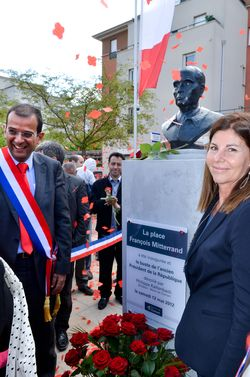 Inauguration Place F.Mitterrand 6