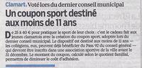 Le Parisien_Coupons Sport