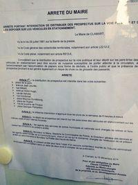 PJ1 - Arrêté Mairie de Clamart Prospectus